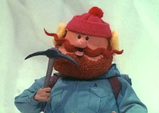 Yukon Cornelius has a few questions he needs to ask the Bumble