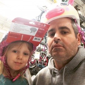We are too cool for these bike helmets, Wal-Mart, and everything