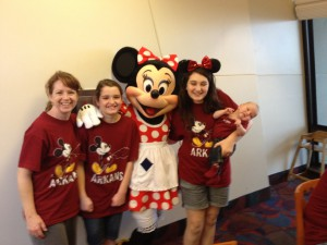 My Girls and the First Lady of Disney World
