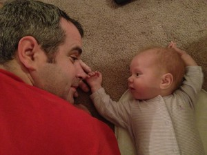 Being Daddy to a baby girl is the best